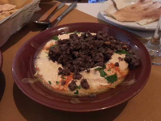 Camp Hill, PA: Hummus with Beef was OUTSTANDING!!!
