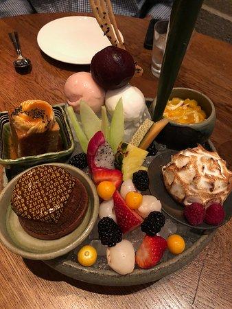 Zuma Miami : degustaçao das sobremesas