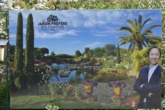 Servian, فرنسا: Jardin Préféré des Français - Stéphane Bern