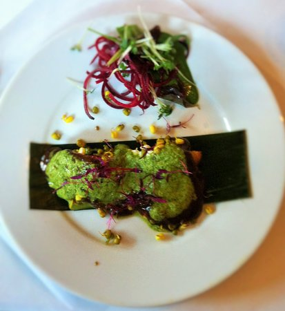 Indian Zest: Peas and Potato Tikki with Sprouted Beans