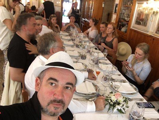 Al Gatto Nero Da Ruggero: Tisch bei Feier