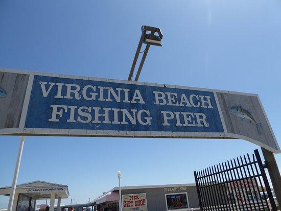 Fishing Pier Virginia Beach Location