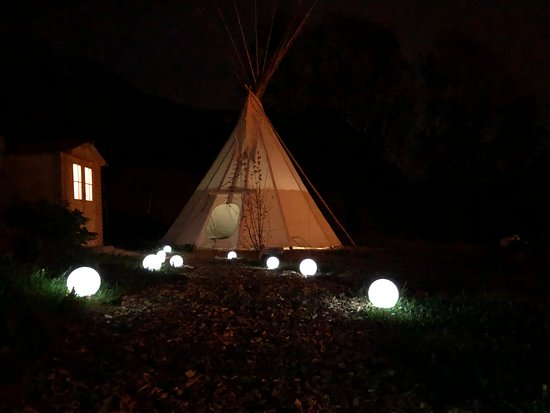 Triesenberg, Λιχτενστάιν: Our newly build tepee for renting!