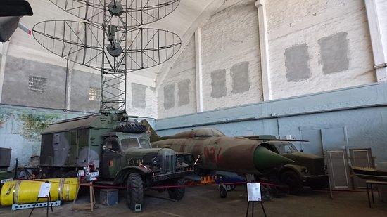 Technik Museum Putnitz: In der Ecke versteckt sich auch ein Jet