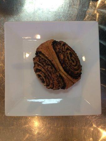 Orderville, UT: Mohnsschnecke (poppy seed pastry)