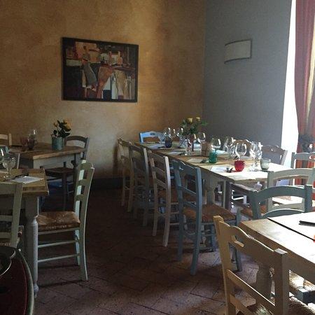 Castelmuzio, Olaszország: Locanda di CasalMustia