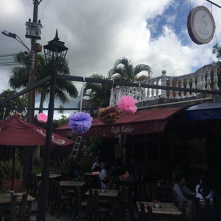 Mariquita, كولومبيا: Café Kuzkin
