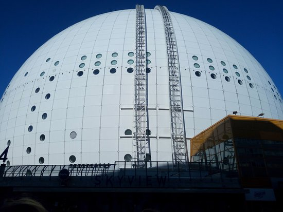 Ericsson Globe: Outside view