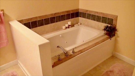 Covington, VA: The Suite - Jacuzi bath