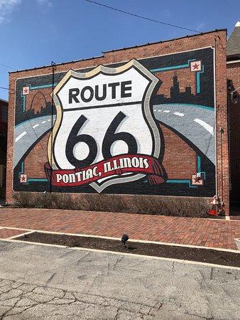Πόντιακ, Ιλινόις: Street Art