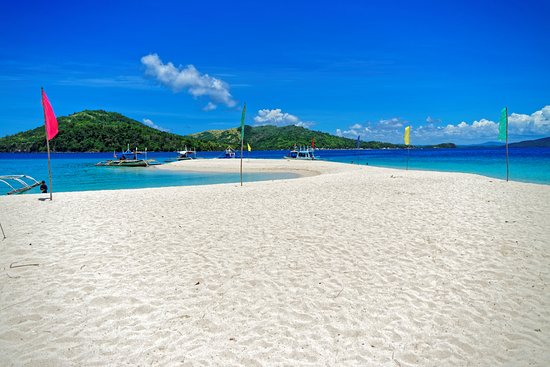 Agho Island: view of sandbar