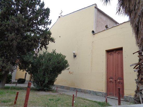 San Juan, Argentina: Frente del templo muy sencillo