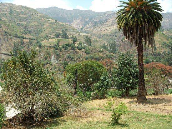 Limatambo, Peru: Vista desde el interior de la Hacienda