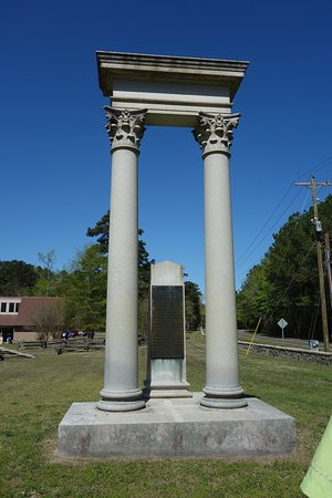 Bennett Place Historic Site: Monument is awesome when you see it up close