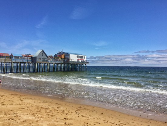 Old Orchard Beach Pier: OOB Pier on a beautiful May day
