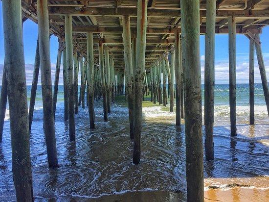 Old Orchard Beach Pier: Down under the pier