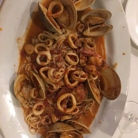 Closter, NJ: My Seaglass Pinot Noir and my cioppino