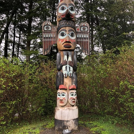 Totem Bight State Historical Park: Totem at Totem Bight Park, Ketchikan, AK