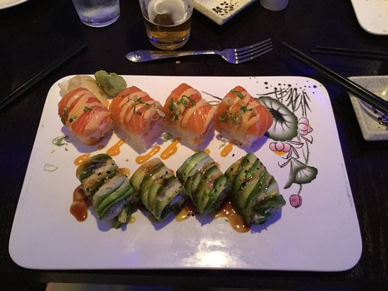 Avondale, เพนซิลเวเนีย: Pretty in Pink and Forest rolls