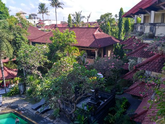 Bali Sandy Cottages : Hotel view from the room