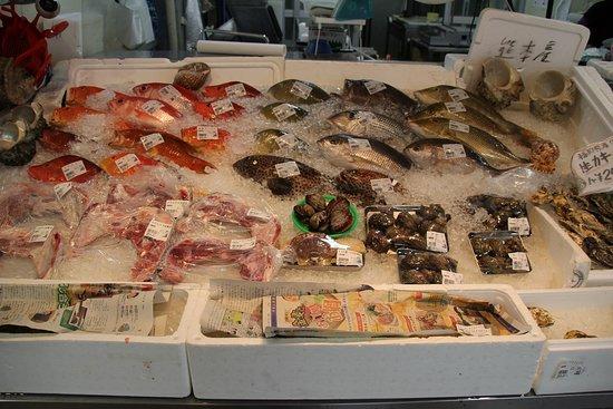 豊富な魚介類