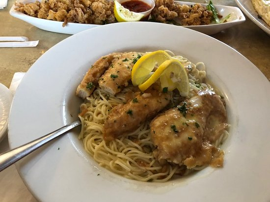 Chicken Francaise Picture Of Valentinos Pizza Restaurant
