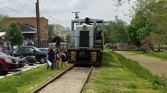 Connersville, IN: The train stop in Metamora