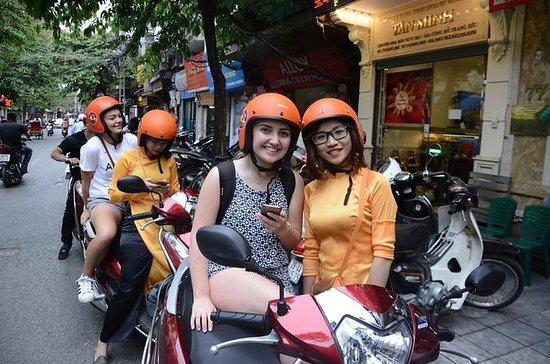 Hanoi sunset motorbike tour