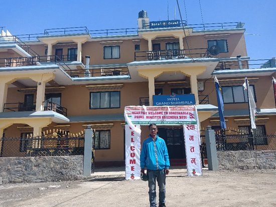Muktinath, Nepal: Hotel Grand Shambala