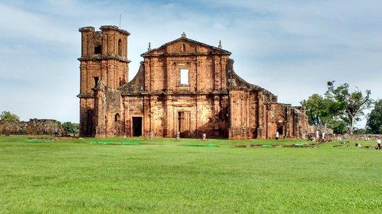 São Miguel das Missões, RS: Muy buen estado de conservaciòn para una construccion tan antigua.