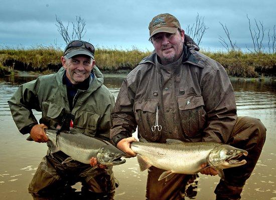 Yakutat, Alaska: Pair of Silvers