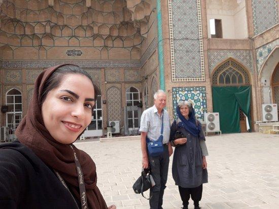 in Jame Mosque Qom