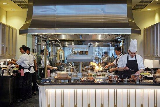 Palm Court: Open Kitchen