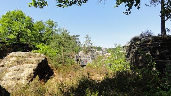 Lohmen, Německo: Ruiny
