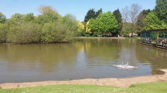 Corby Boating Lake
