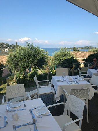 Louis Corcyra Beach Hotel: View from restaurant