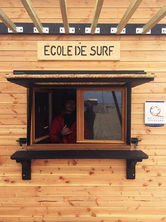 ESCF Anglet/ Billabong Surf School: Nouvelle cabane pour cet été 2018. Accueil qualité tourisme.