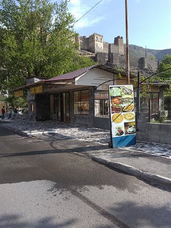 "Samtskhe-Javakheti Region, جورجيا: The cafe ""Turist"" is located inSamtskhe-Javakheti near Khertvisi castle"