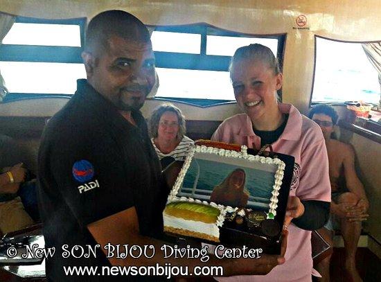 New Son Bijou Diving Center: #Celebrate & #Dive with Us! #newsonbijou #happybirthday #Hurghada #Egypt #scuba #diving