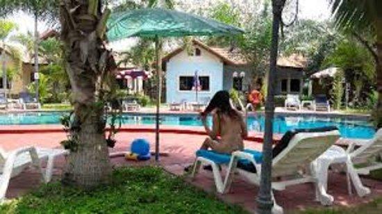 phuan naturist village  pattaya  thailand  cottage