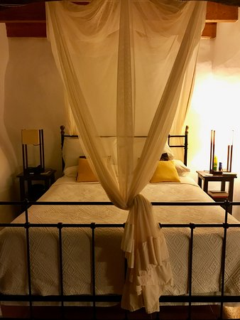 Finca Son Jorbo : Our sumptuously comfortable bed