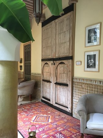 Riad Azoulay: Door to our family bedroom