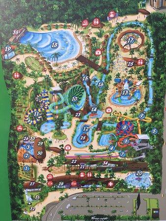 สวนน้ำ วานา นาวา หัวหิน: Map