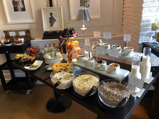 Hotel Lungarno: breakfast