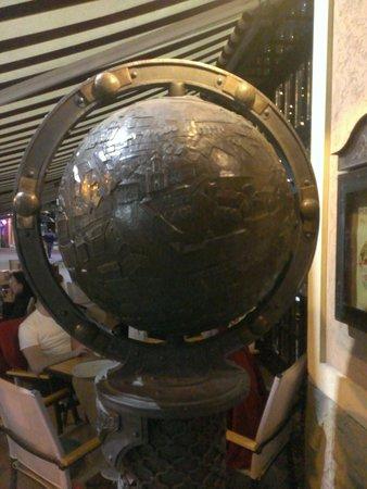 Monument Globus Uzhgoroda
