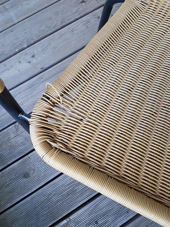 Losheim am See, ألمانيا: Terrassenstühle