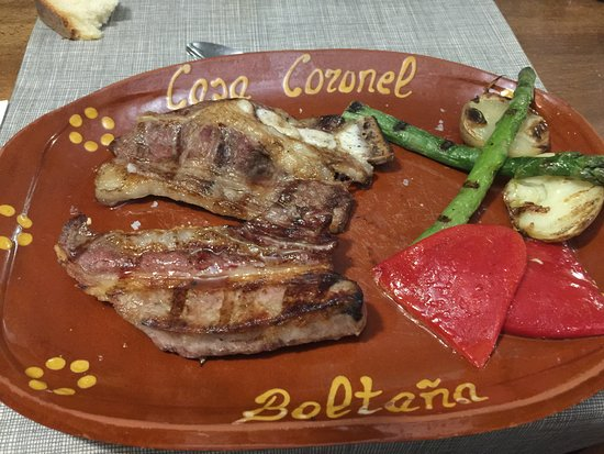 Boltana, Spain: Churrasco