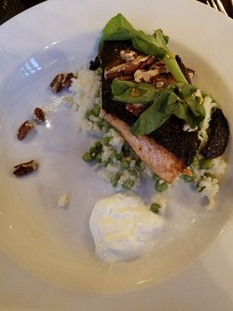 Tuthill House at the Mill : Charred salmon