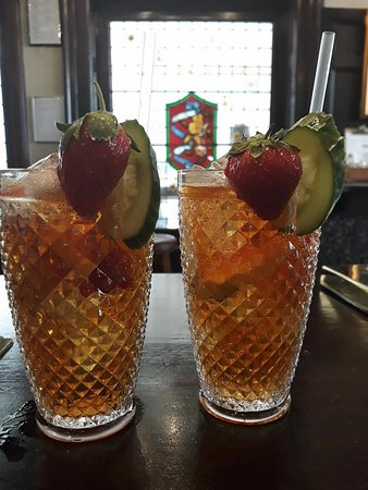Ready for your Pimm's?