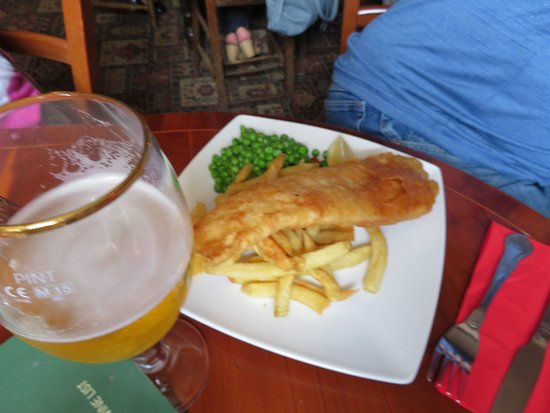 Napton-on-the-Hill, UK: Fish and Chips